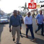جولة ميدانية لمحافظة بورسعيد بشارع عاطف السادات